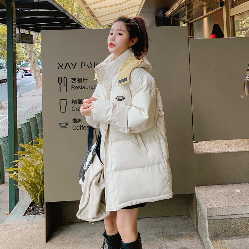 实拍2021冬新款羽绒棉服女装短款面包服韩版棉服宽松学生外套棉衣