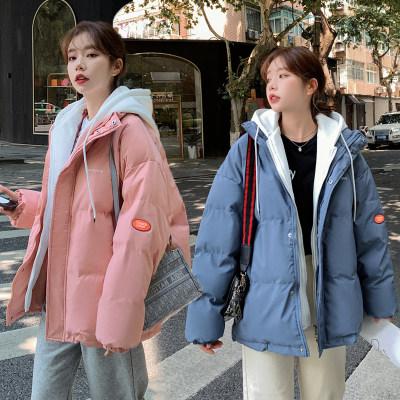 实拍羽绒棉服短款女学生棉衣2021年冬季新款bf韩版小个子棉服外套                        实拍羽绒棉服短款女学生棉衣2021年冬季新款bf韩版小个子棉服外套