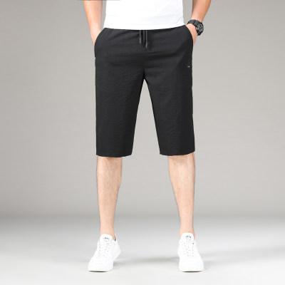 新款夏季冰丝弹力速干裤运动休闲松紧裤腰                        新款夏季冰丝弹力速干裤运动休闲松紧裤腰