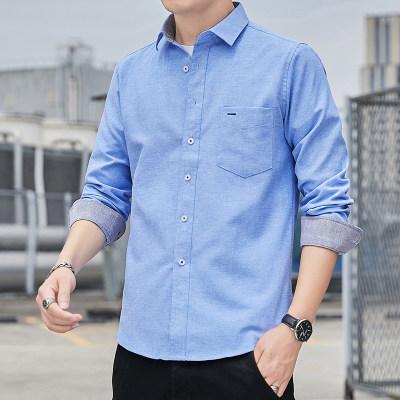 纯棉2021秋季新款衬衫男士日系复古个性宽松格子衬衣                        纯棉2021秋季新款衬衫男士日系复古个性宽松格子衬衣
