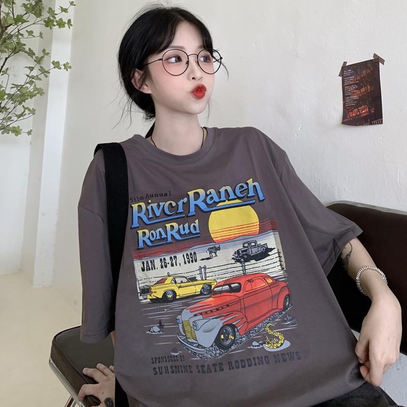 实拍 【实价】6535拉架棉 短袖t恤女