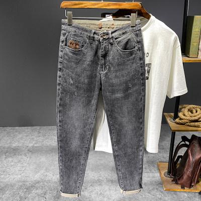 2021春夏新款时尚潮流小脚牛仔裤                        2021春夏新款时尚潮流小脚牛仔裤
